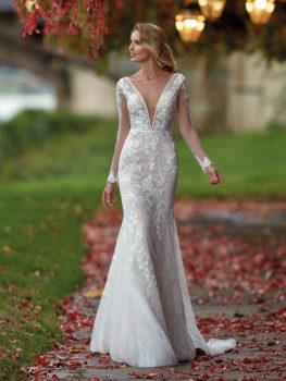 Vestito da sposa a sirena -Nicole